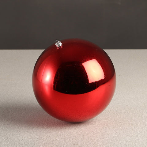 Red Glossy Bauble 100mm