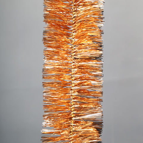 rosegold 6 ply tinsel 100mm x 5.5m