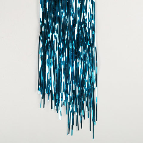 teal door tinsel 2m drop 90cm wide