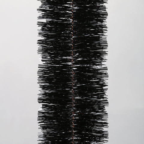 Black 6 Ply Tinsel Garland - 100mm x 5.5m