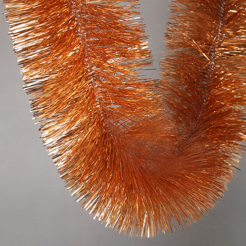 rosegold 4 ply tinsel 150mm x 10m