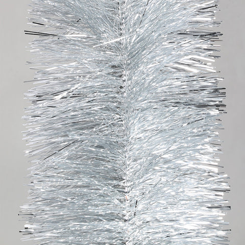 silver 6 ply tinsel 150mm x 10m