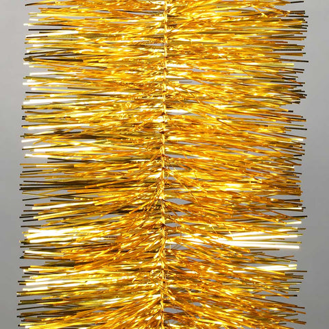 gold deluxe tinsel 100mm x 5.5m