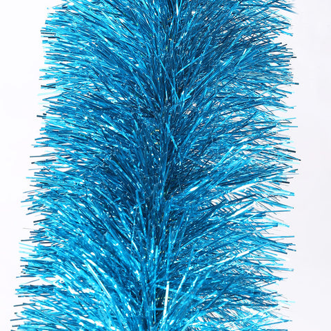 electricblue 4 ply tinsel 150mm x 10m