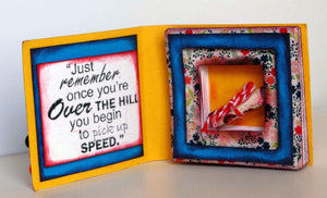 MINI LAYERED BOOK FOLD CARD