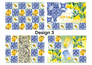 Decoupage papers (design no -3) pack of 4