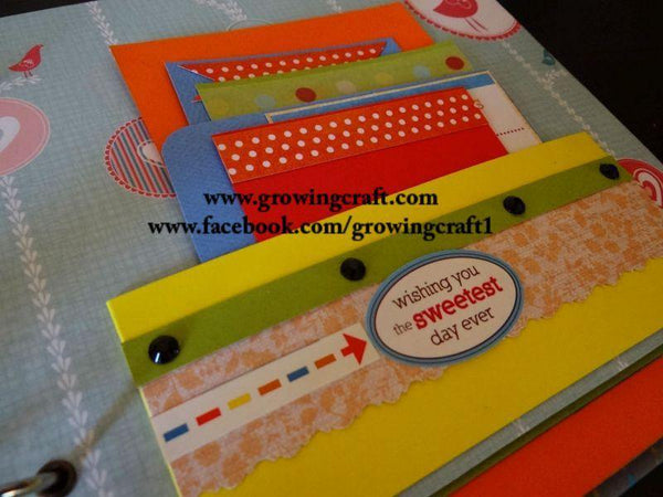 KIDS MULTI FOLD AND FLAP ALBUM