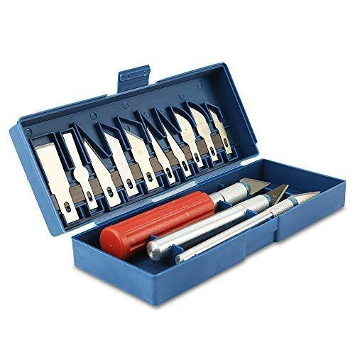 Knife set with case