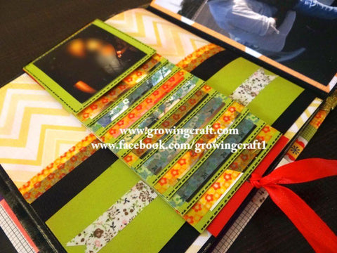 Customized scrapbook
