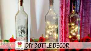 DIY BOTTLE DECOR