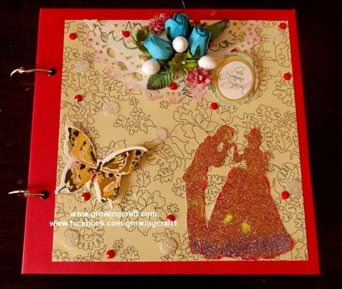 FOR SOME ONE SPECIAL-MULTI FOLD SCRAPBOOK