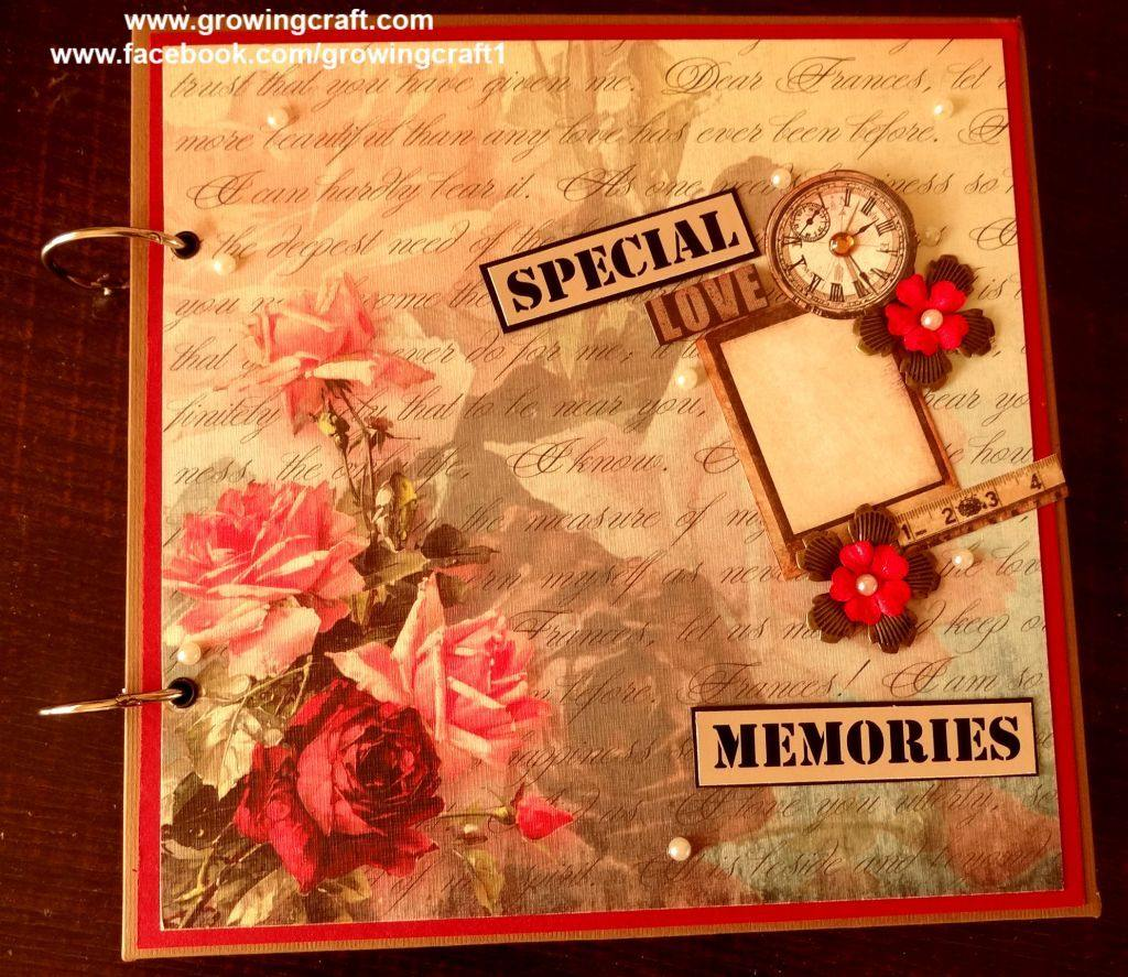 Special love memories - photo album