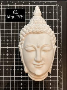 Resin Embellishments ( Buddha face small)