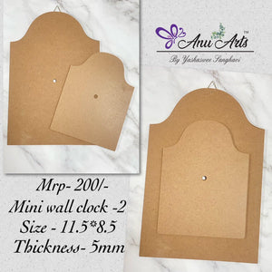 Wall Clock Base -2