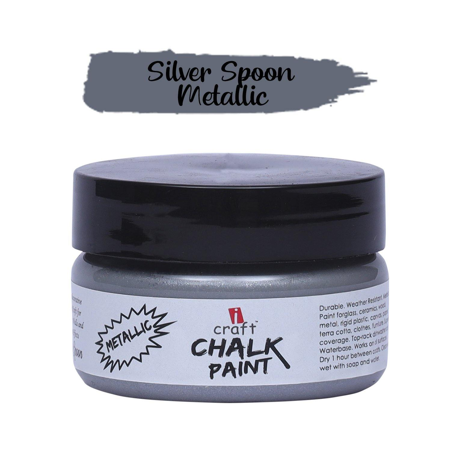 Metallic Chalk Paint - Silver