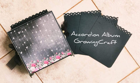 Handmade Accordion Theme Box Album