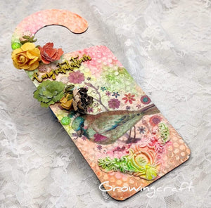 Mixed Media Door Hanger