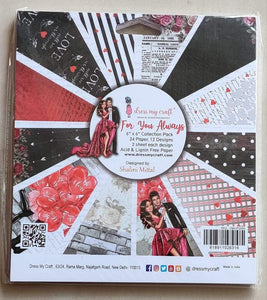 Love theme paper pack- FREE SHIPPING anywhere in India