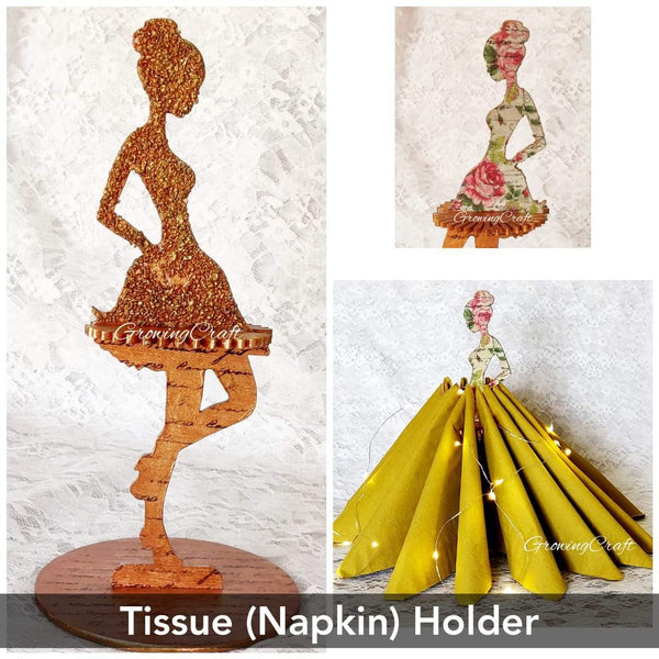 Tissue paper (Napkin Holder)