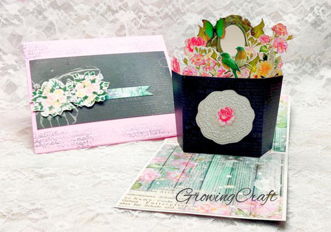 Floral Pop - Up Card (3D Card)