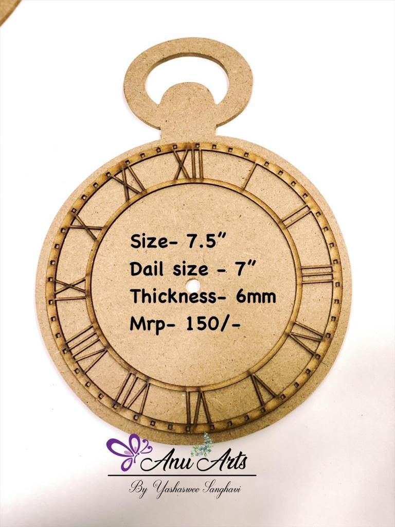 Wall clock base - 3