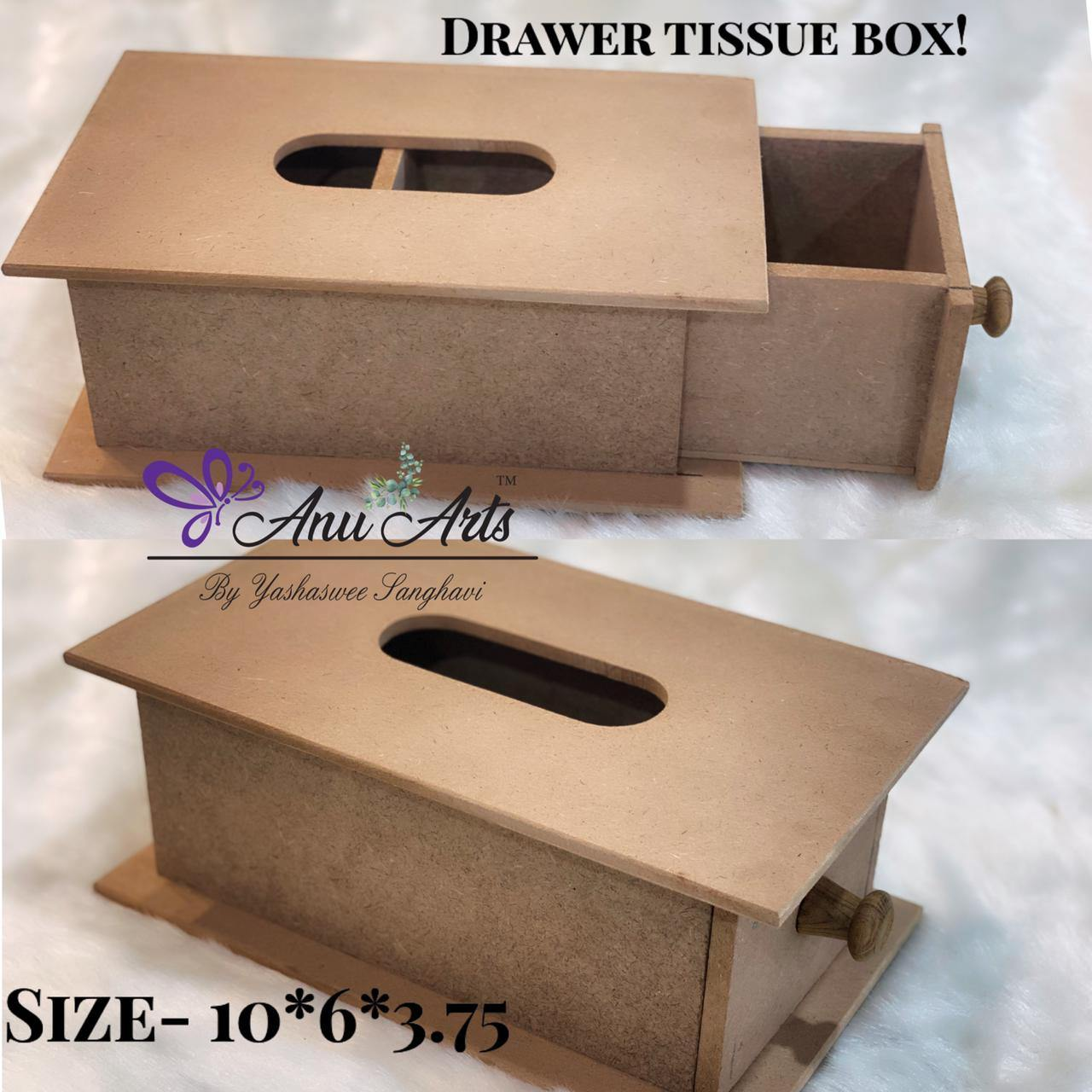 Drawer Tissue Box
