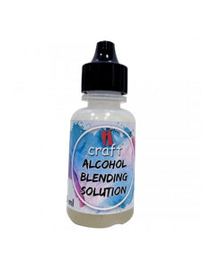 Alcohol Ink Blending - solution