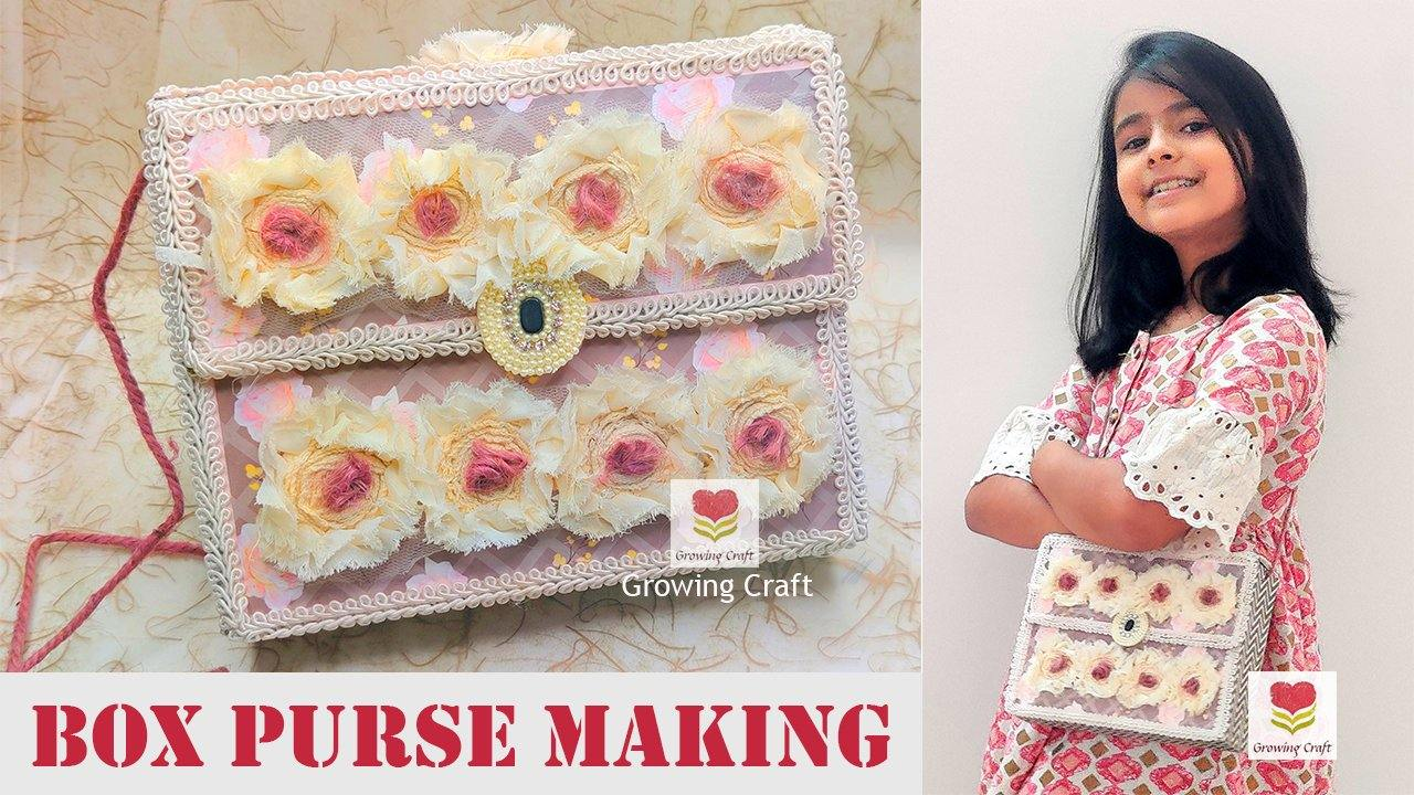 Box PURSE MAKING - Without Kit (LIMITED SEATS ONLY)