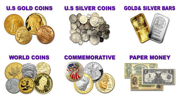 WE BUY, SELL & LOAN ON COIN AND BULLION!
