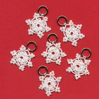 Snowflake Stitch Markers