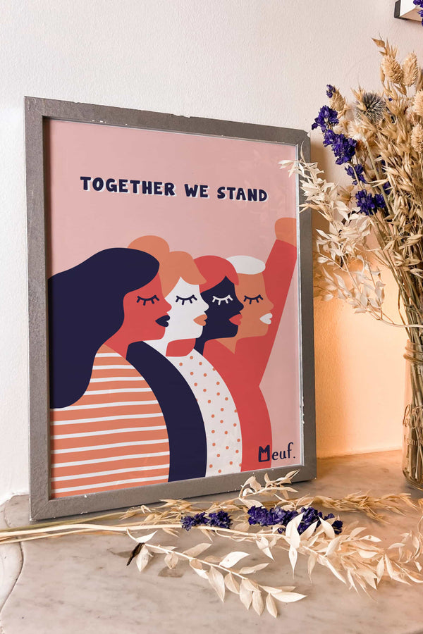Poster - Together We Stand