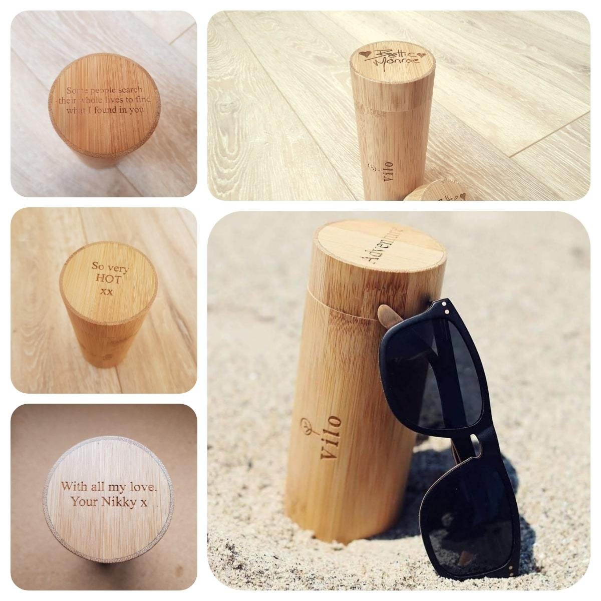 Eden - Wooden Sunglasses