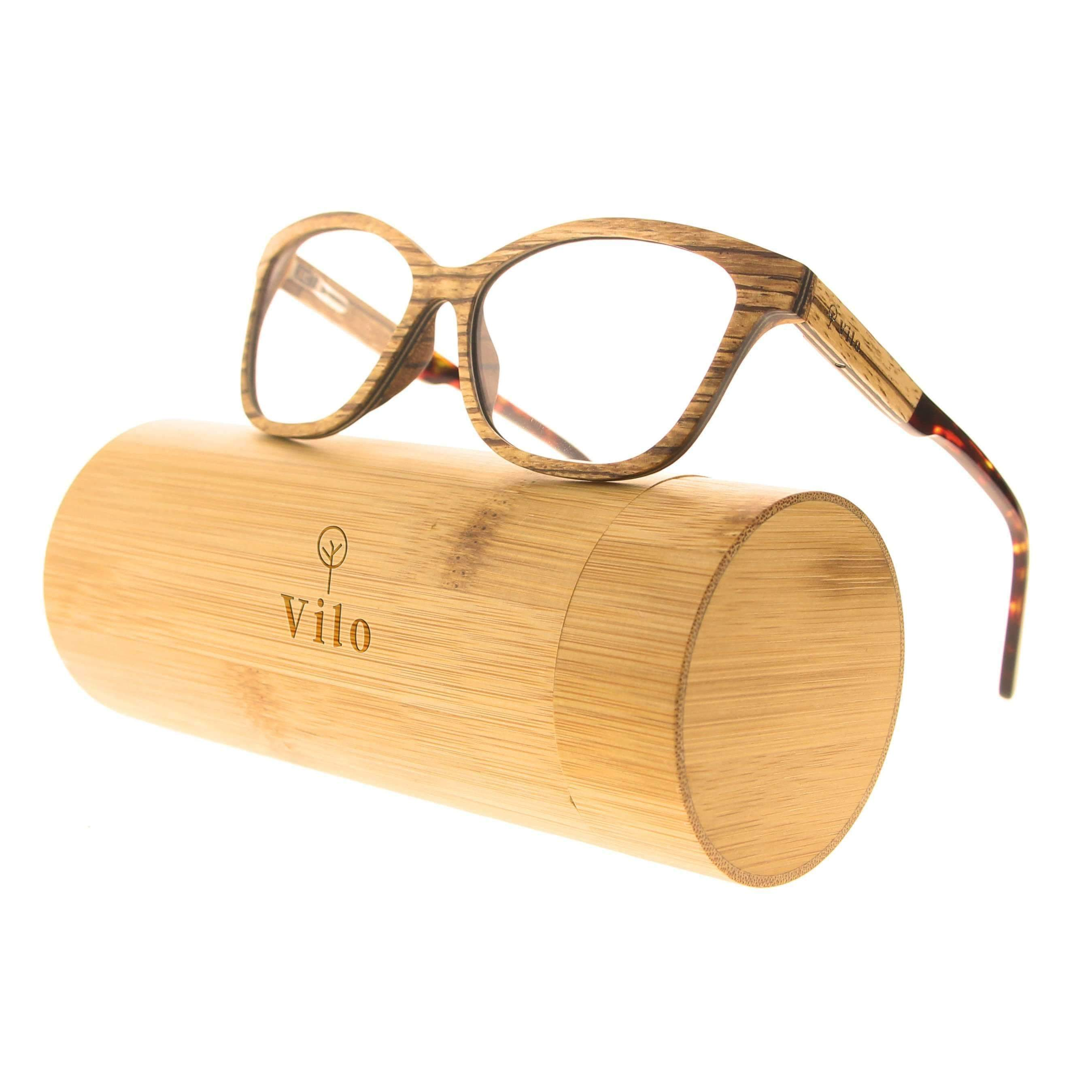 Vilo Optical Wooden Glasses - Marilyn: