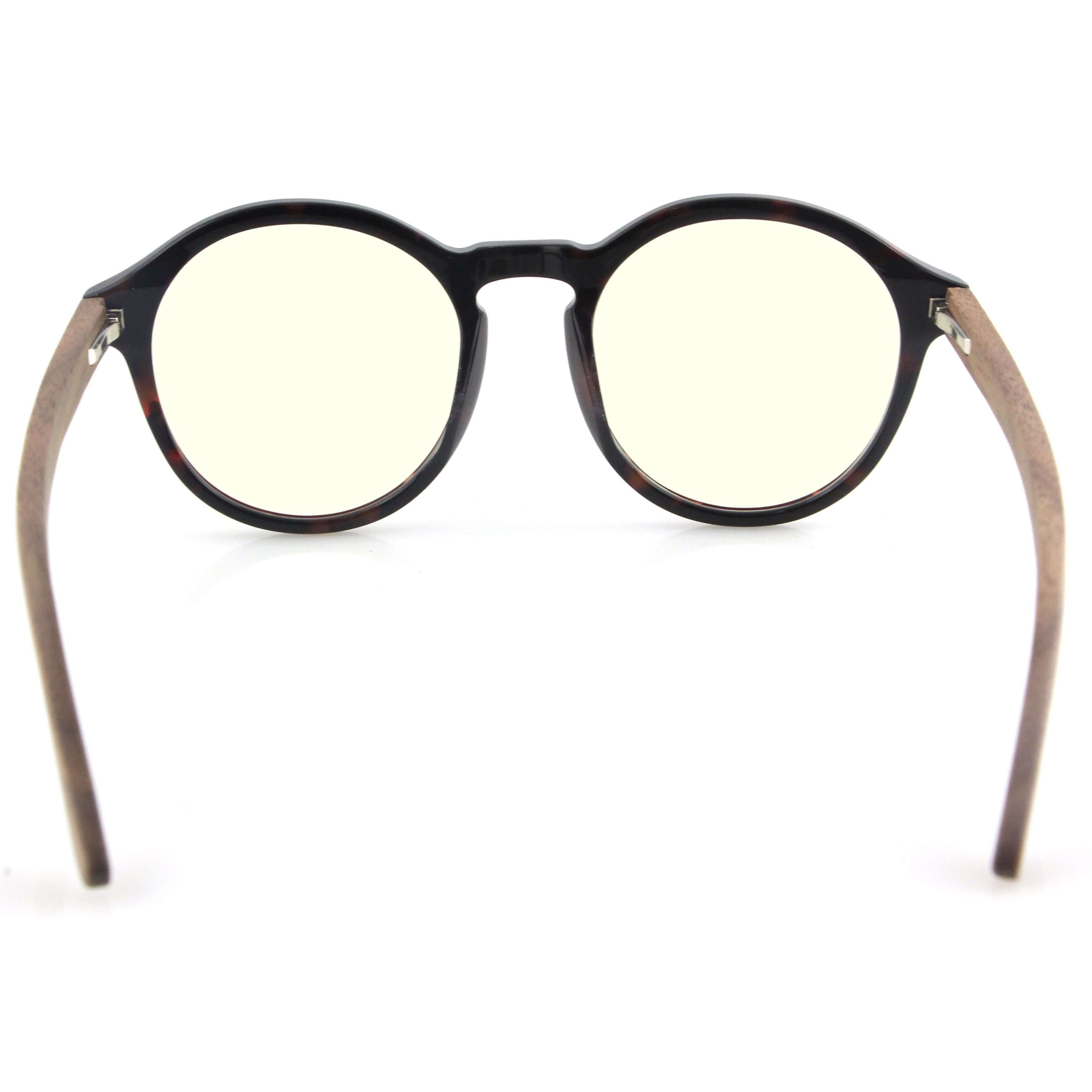 Vilo Dickens - Wooden Blue Light Glasses: