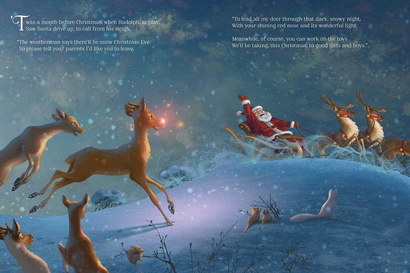Rudolph Shines Again [Hardcover]