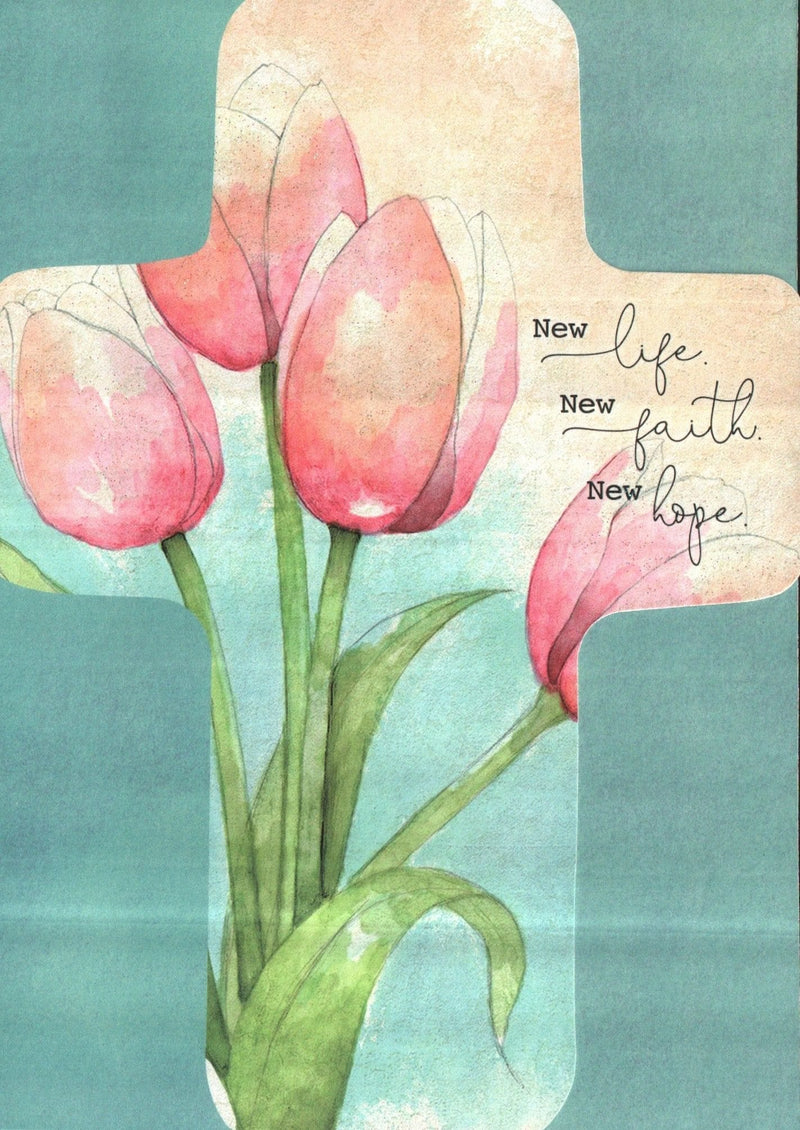 New life New faith New hope Easter Card