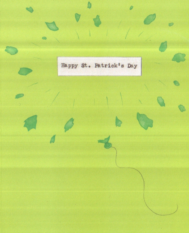 Porcupine friends St. Patricks Day Greeting Card
