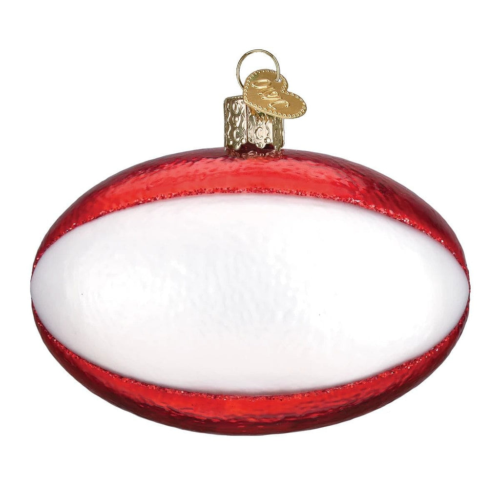 Rugby Ball Ornament - Shelburne Country Store
