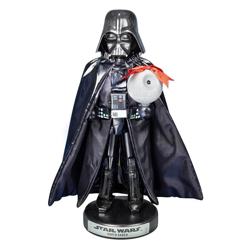 10 inch Darth Vader W/Death Star Nut Cracker