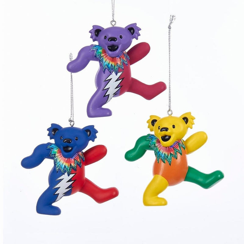 Grateful Dead Bear Ornament -