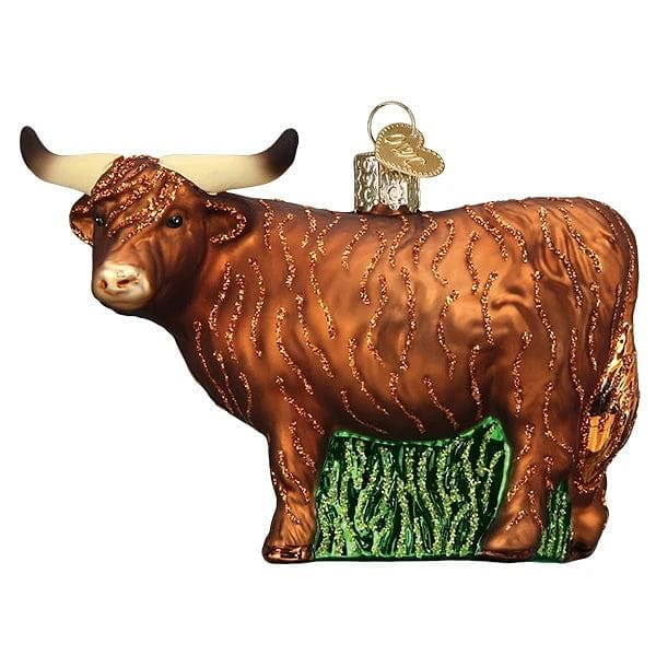 Highland Cow Ornament - Shelburne Country Store