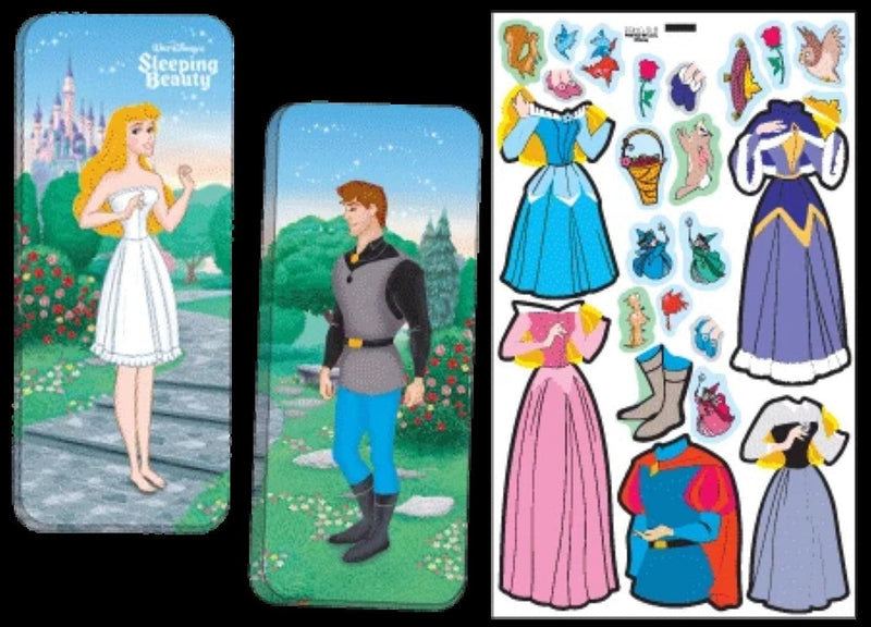 Magnetic Tin Paper Dolls - Sleeping Beauty - Shelburne Country Store