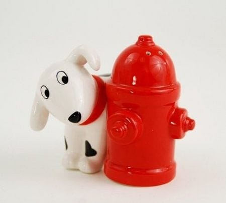 Dalmatian and Fire Hydrant Salt & Pepper