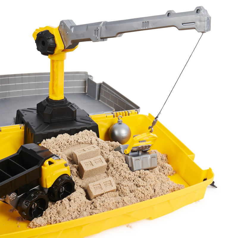 Kinetic Sand Construction Site Folding Sandbox Playset
