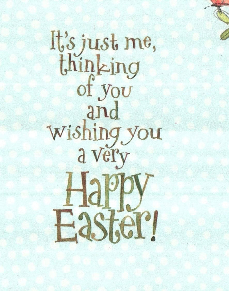 Just me thinking of you Easter Card