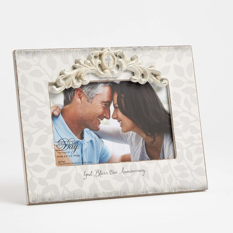 God Bless Our Anniversary - 4x6 Frame