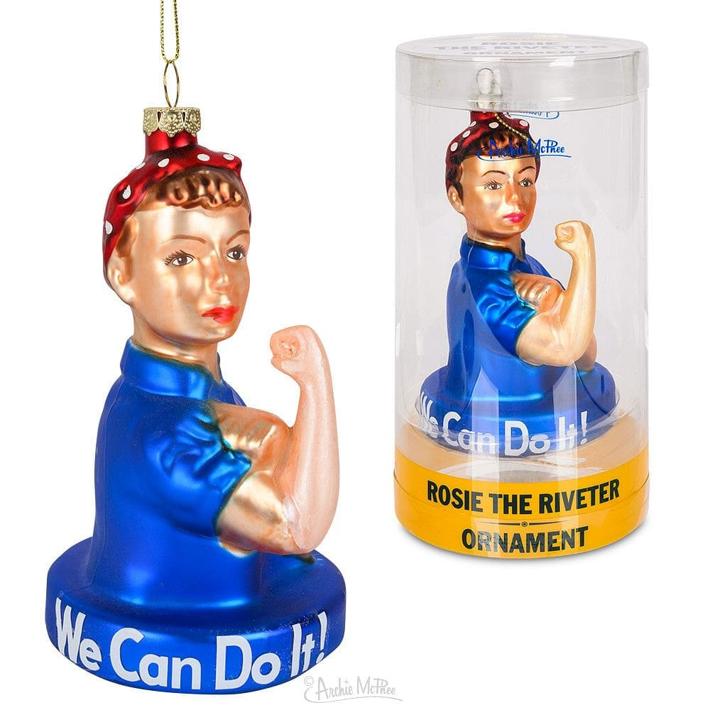 """We Can Do It!"" Rosie the Riveter Ornament - Shelburne Country Store"