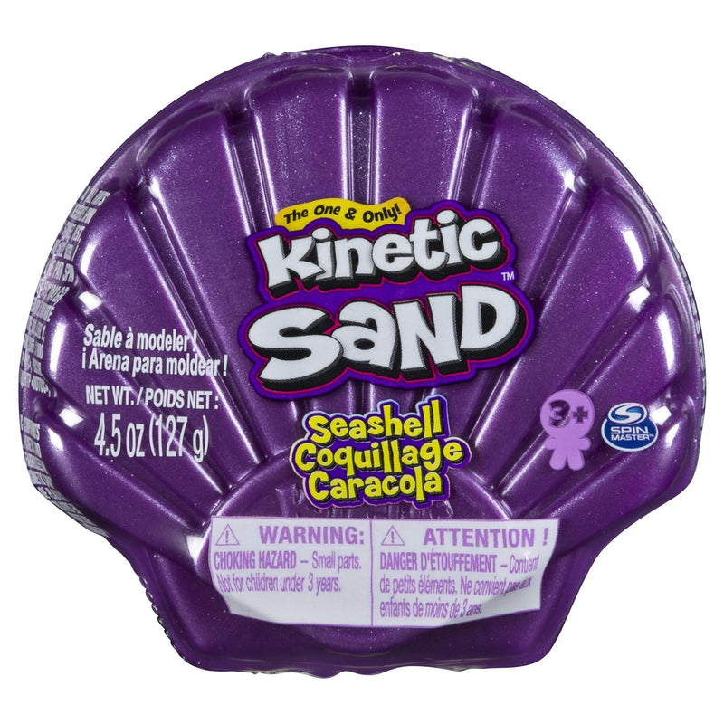 Kinetic Sand - 4.5oz Seashell Container -