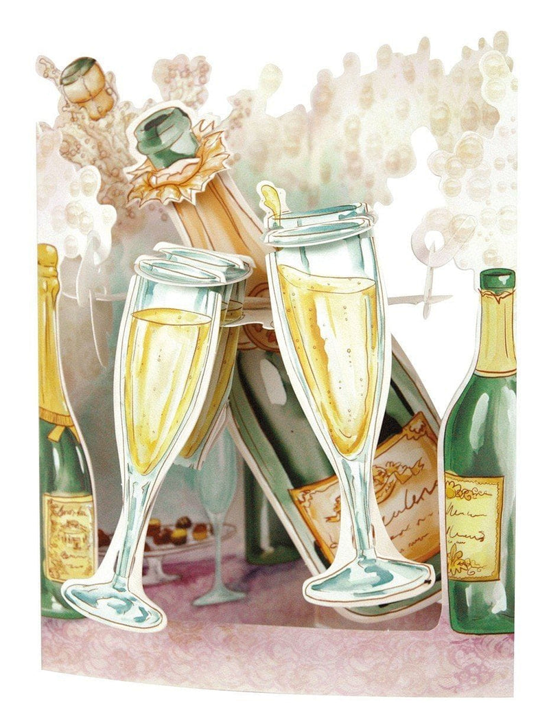Champagne - Swing Card