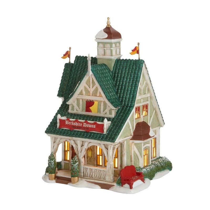 Department 56 Dickens' Village Berkshire Downs Cricket Club Lit Building